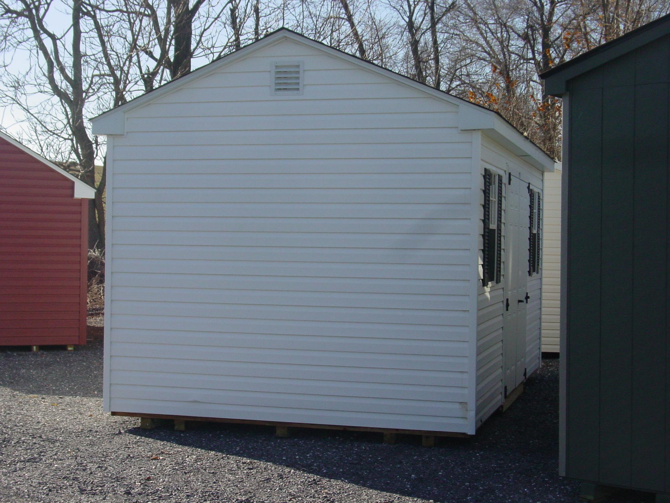 (Building #103)  10x16x7.5 used Vinyl Cottage