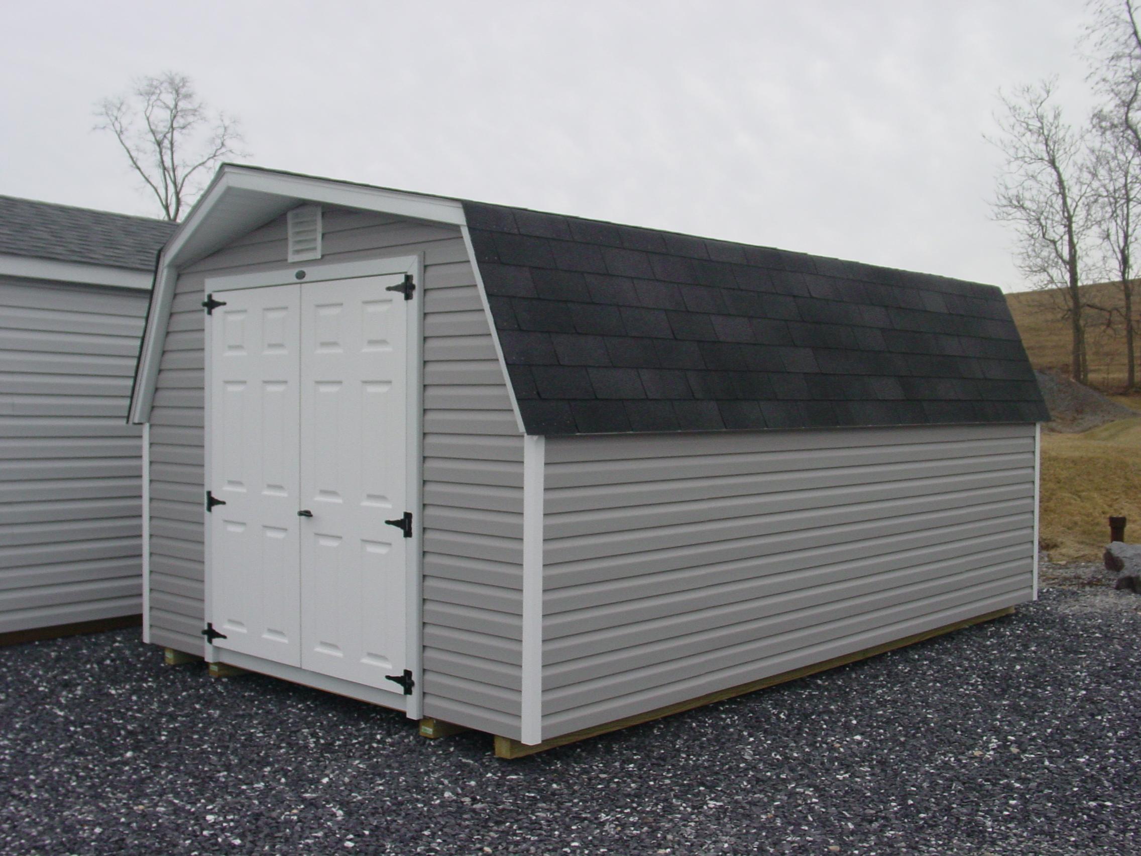 (Building #047) 10×16 Vinyl Barn
