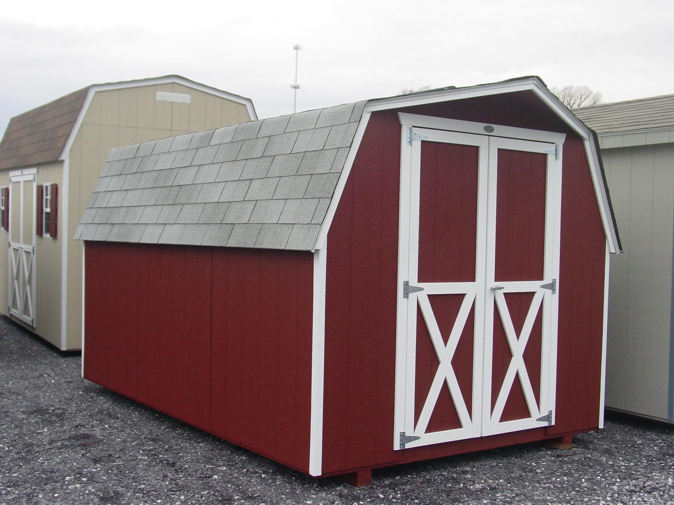 (Building #068) 8×12 Barn