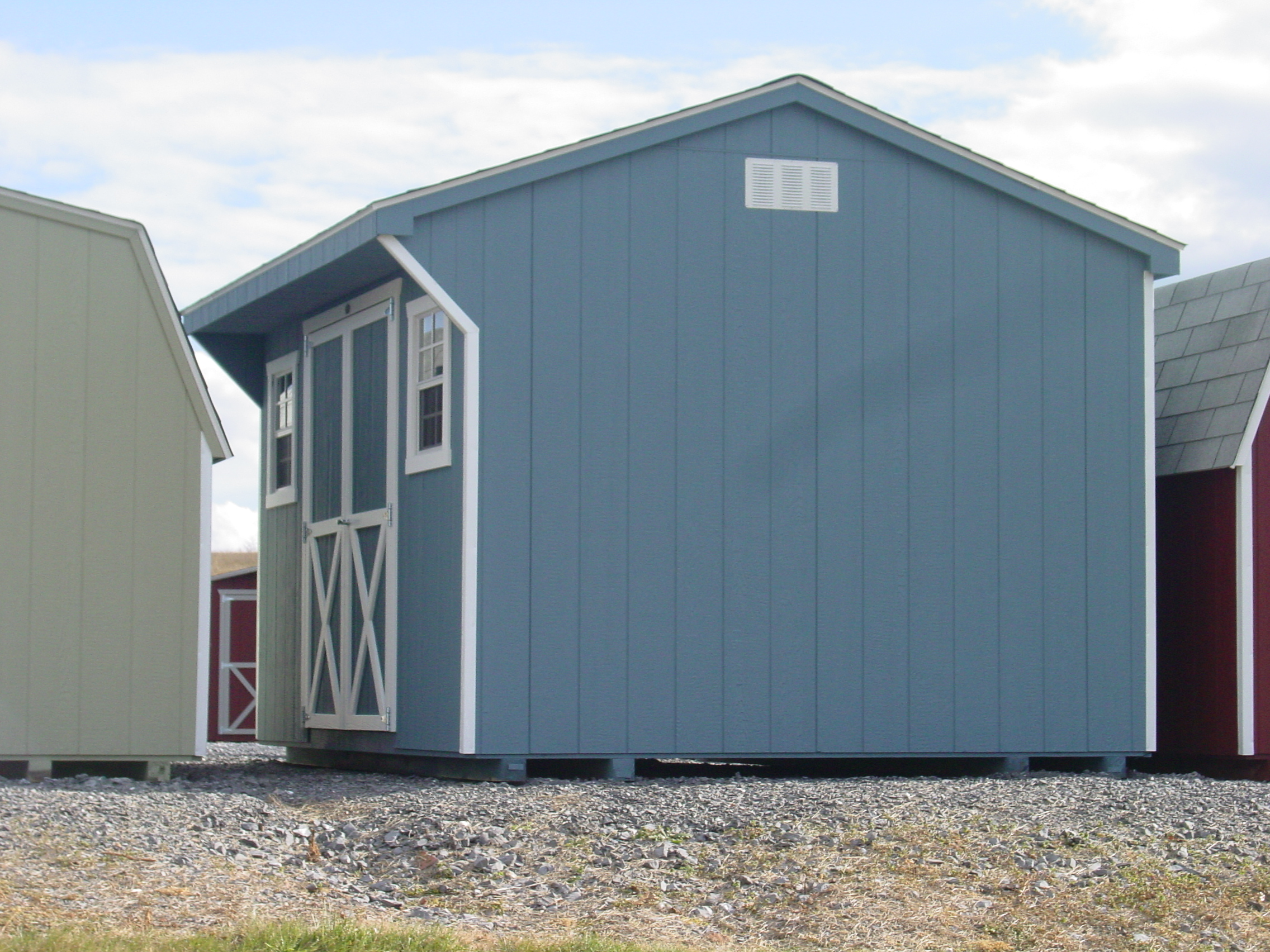 (Building #075) 10×12 Carriage House