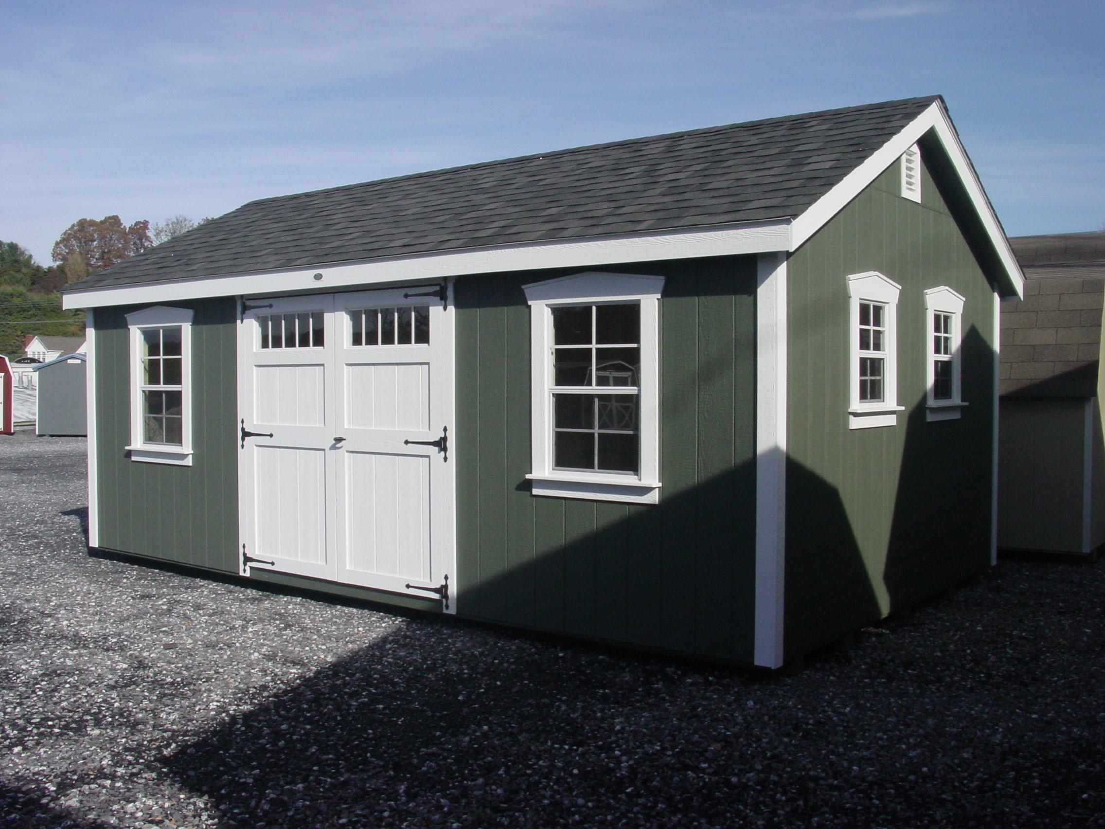 (Building #088) 12×20 Garden House