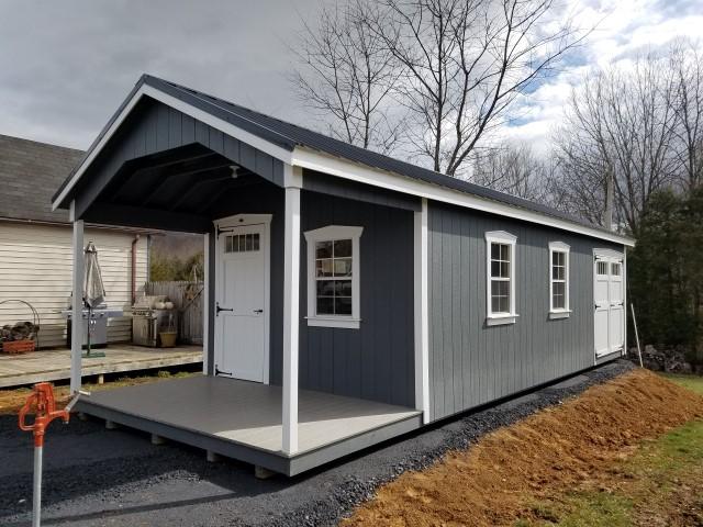 (Building #205) 12x32x8(7.5) Garden House