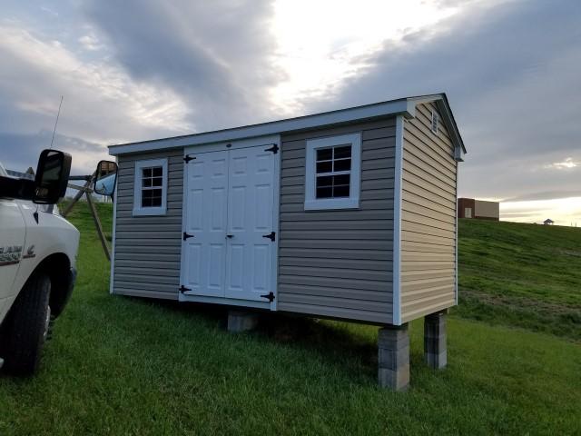 (Building #217) 8×14 Vinyl Cottage
