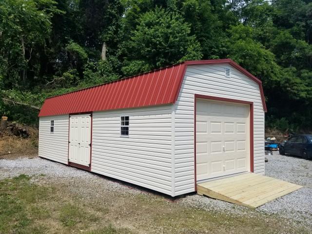 (Building #259) 14x32x7 Vinyl Barn