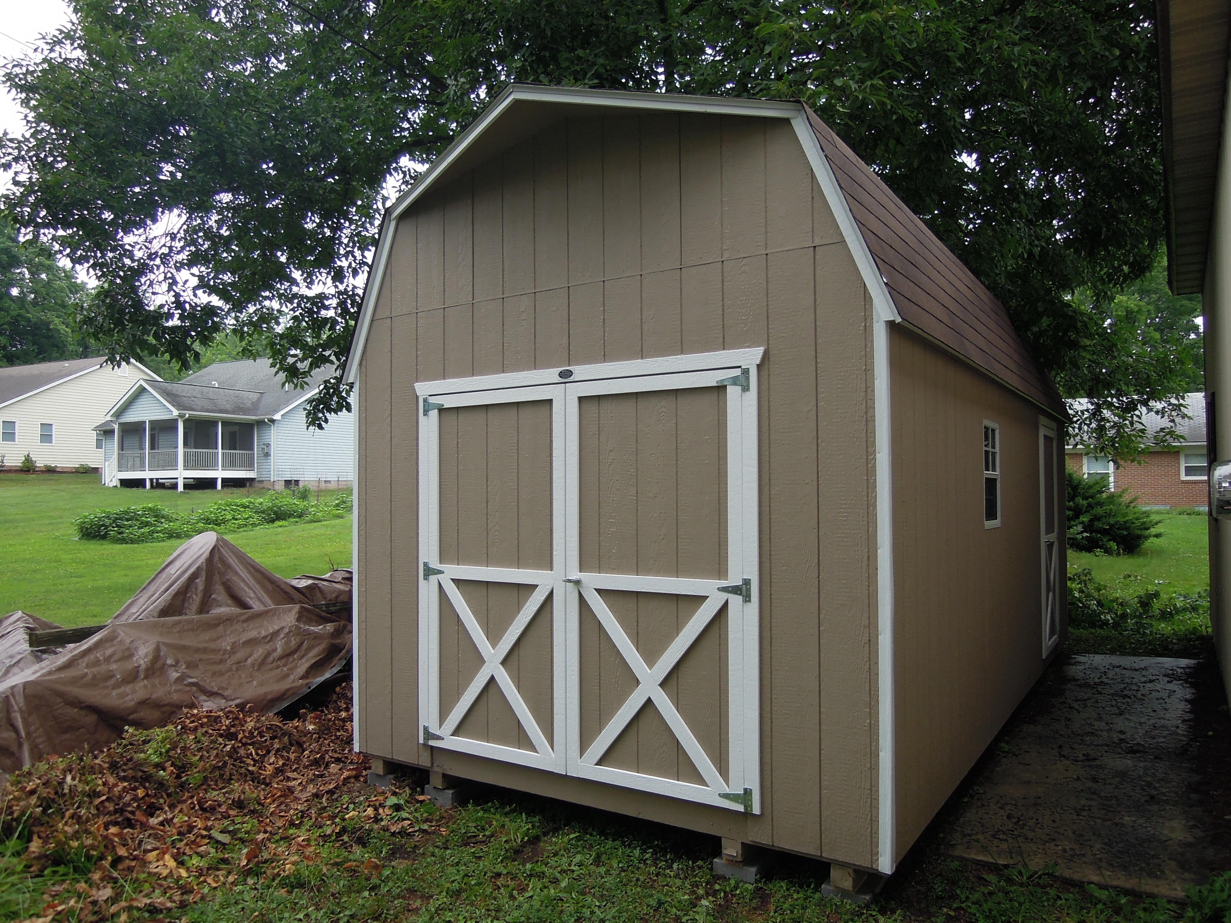 (Building #210) 10x20x7 Barn