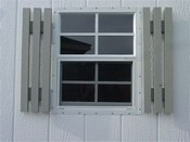 Wood Shutters for 22