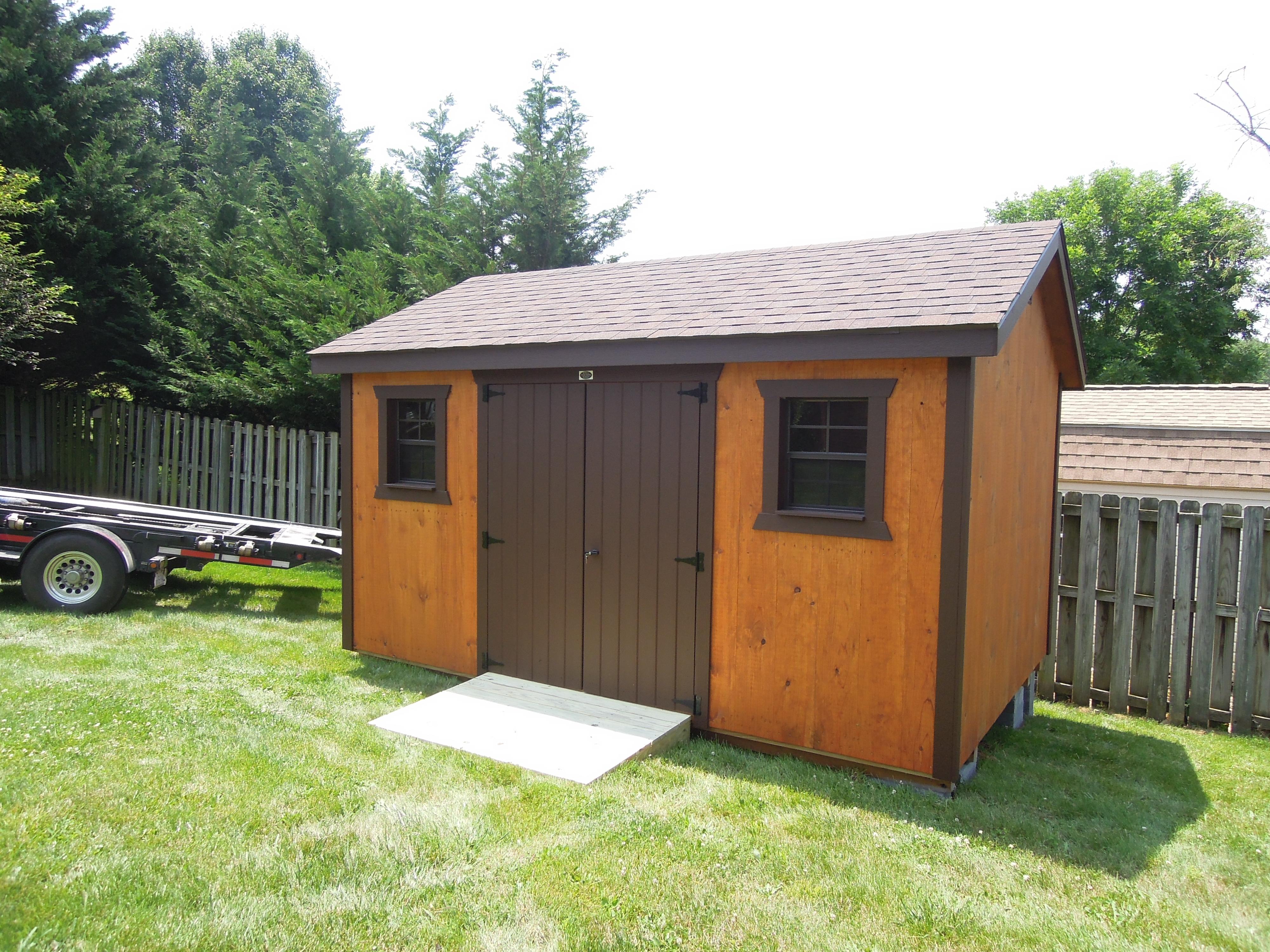 (Building #233) 10×14 1×10 T&G Cottage
