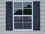 Vinyl Shutters for 3' Window