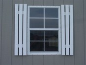 Wood Shutters for 3' Window