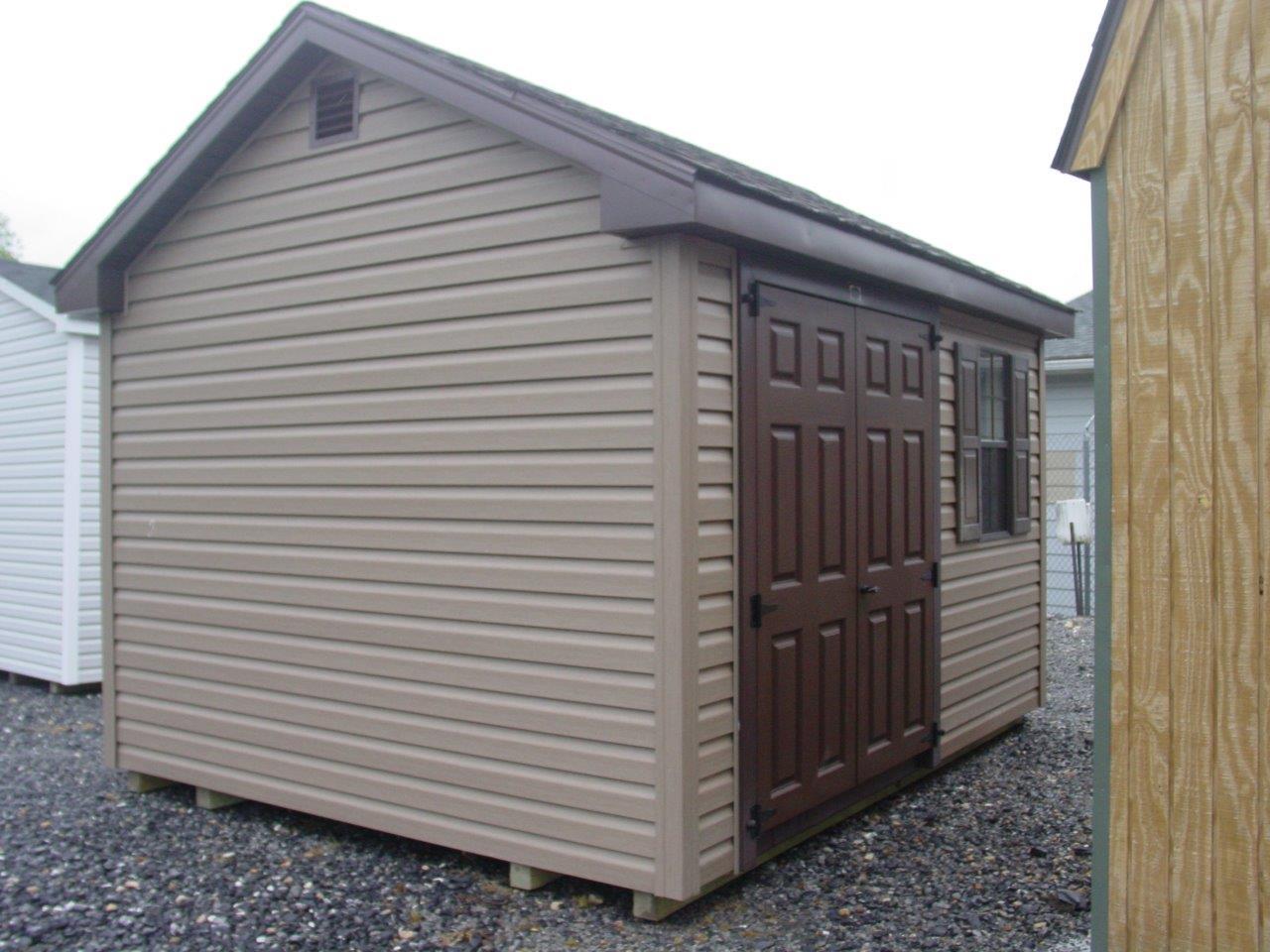 (Building #065) 10×12 Vinyl Cottage