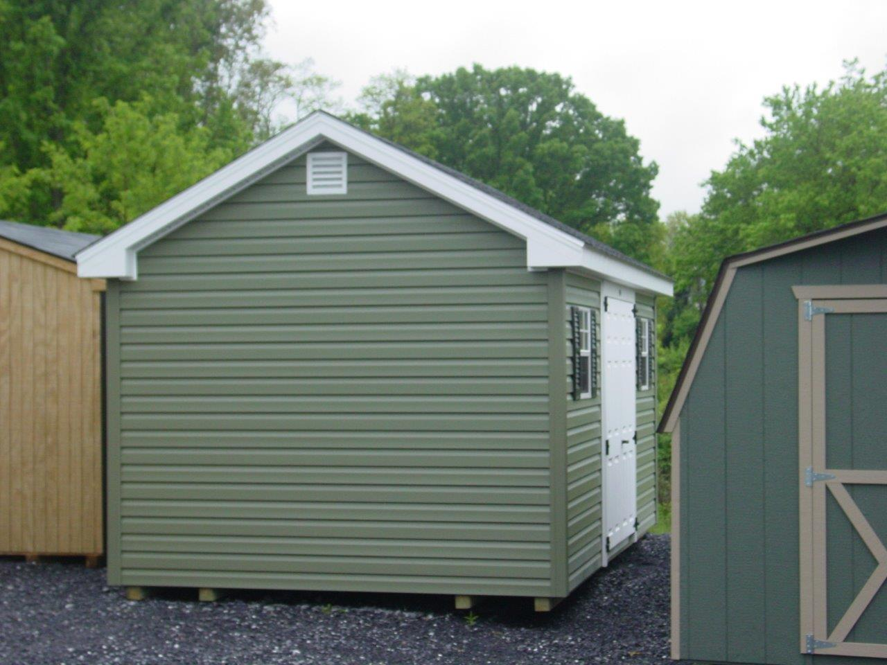 (Building #064) 10×16 Vinyl Cottage