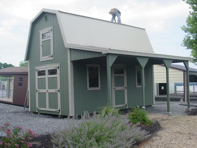 (Building #041) 12×20 Attic Barn