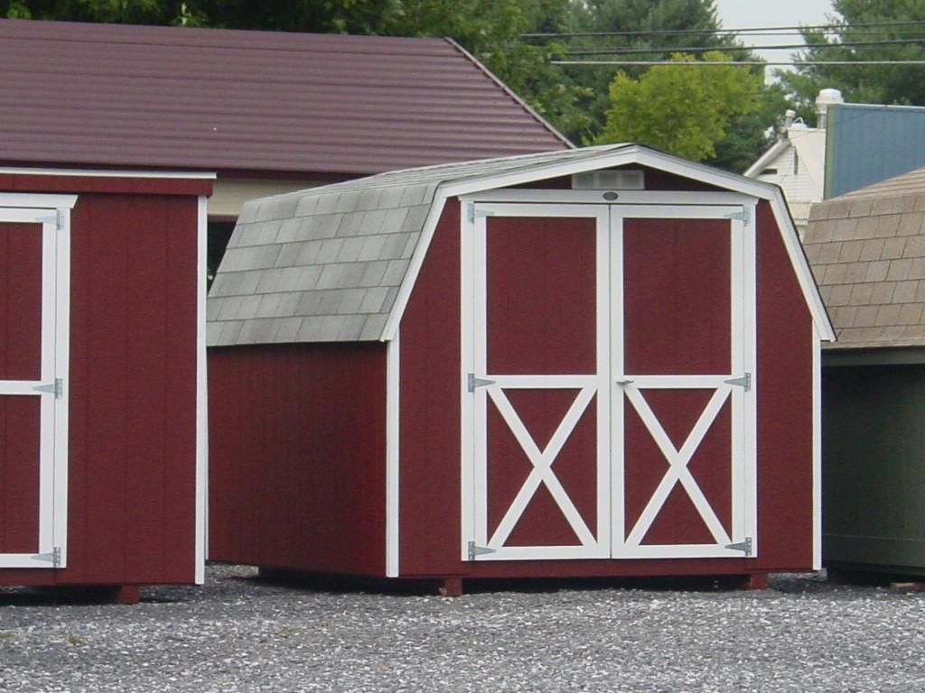 (Building #034) 8×10 Barn