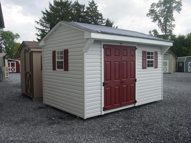 (Building #072) 8×12 Vinyl Carriage House