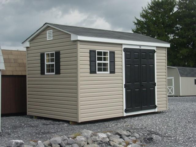 (Building #073) 8×12 Vinyl Cottage
