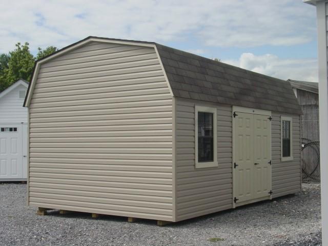 (Building #091) 12x20x7 Vinyl Barn
