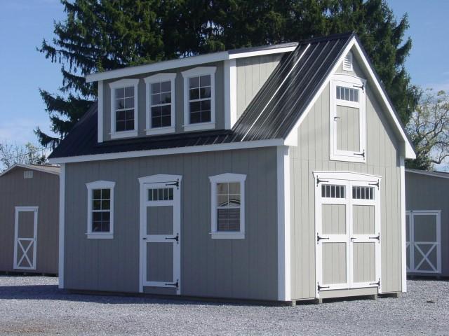 (Building #040) 12×20 Attic Cottage