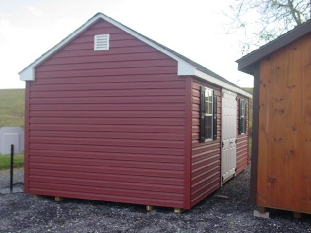 (Building #035) 10×20 Vinyl Cottage