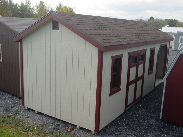 (Building #036) 10x24x8 Storage/Wood Shed