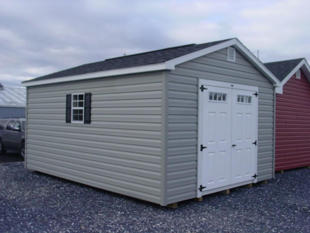 (Building #025) 12×16 Vinyl Cottage