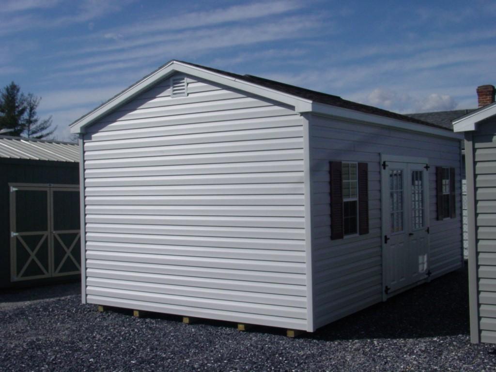 (Building #044) 12x20x8 Vinyl Cottage