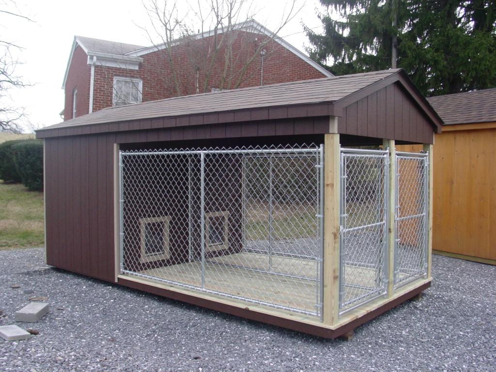 (Building #099) 8×16 Dog Kennel