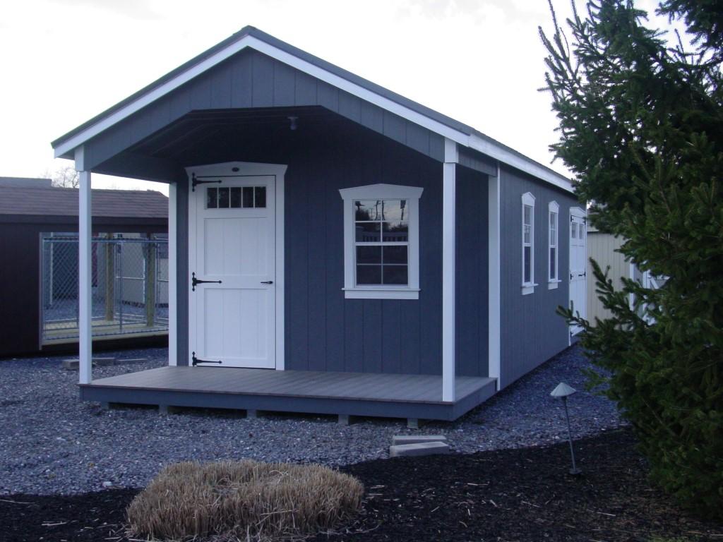 (Building #078) 12x32x8(7.5) Garden House
