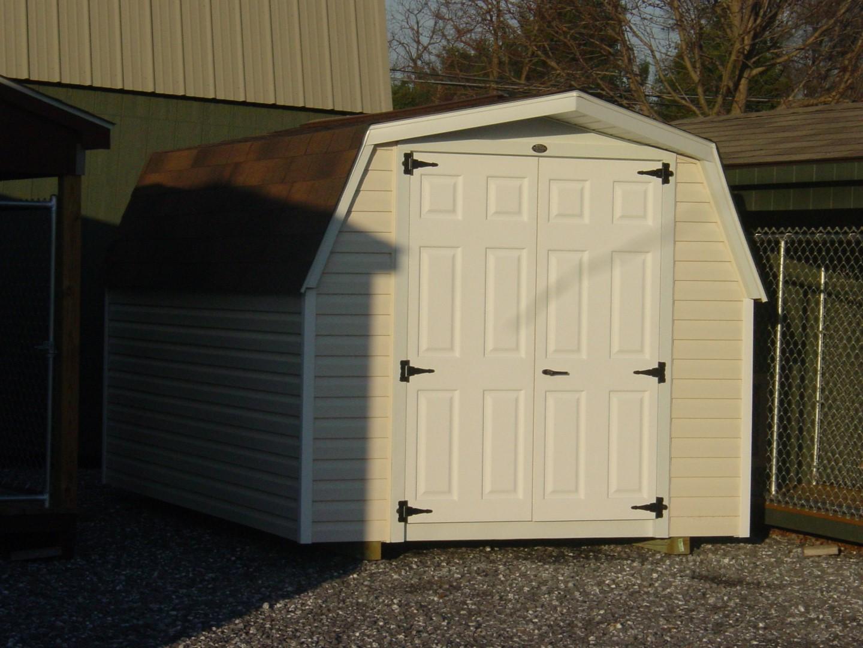 (Building #005) 8×12 Vinyl Barn