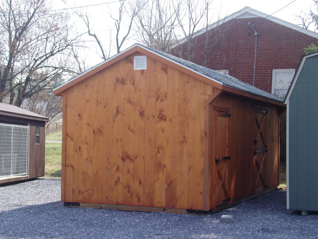 Beau (Building #002) 10×22 Stable W/6u0027 Tack Room