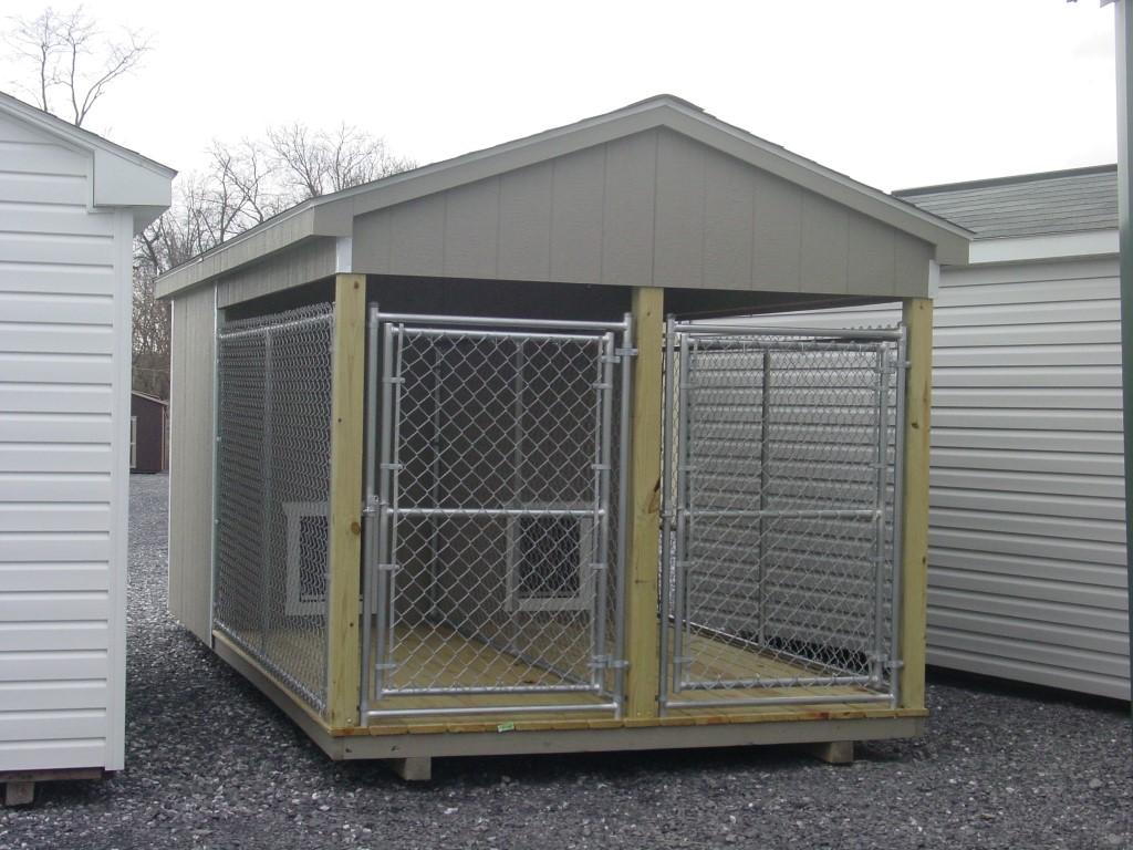 (Building #014) 8×16 Dog Kennel