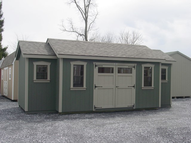 (Building #032) 10x24x8(7.5) Garden House