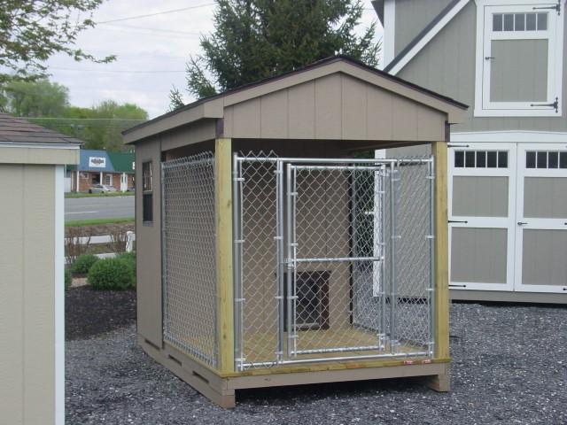 (Building #087) 6×10 Dog Kennel