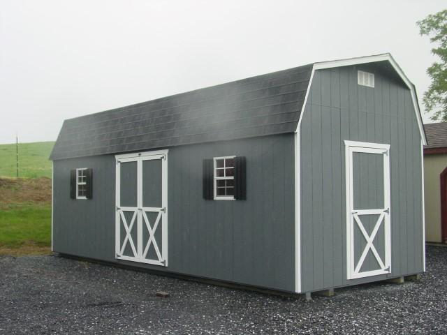 (Building #080) 10x24x7 Barn