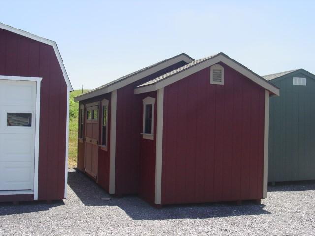 (Building #082) 10x24x8 Garden House