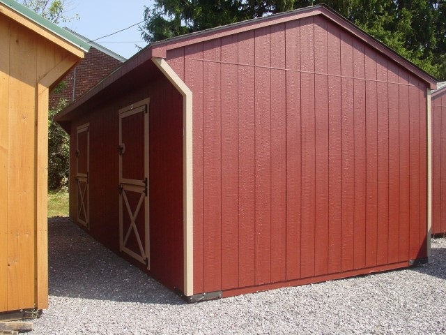 (Building #047) 12×24 Stable w/2 stalls