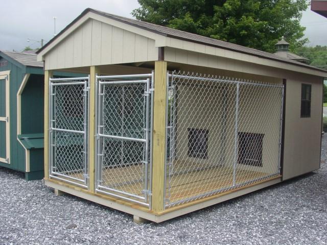 (Building #025) 8×16 Dog Kennel
