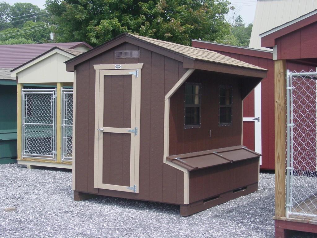 (Building #036) 6×8 Chicken Coop