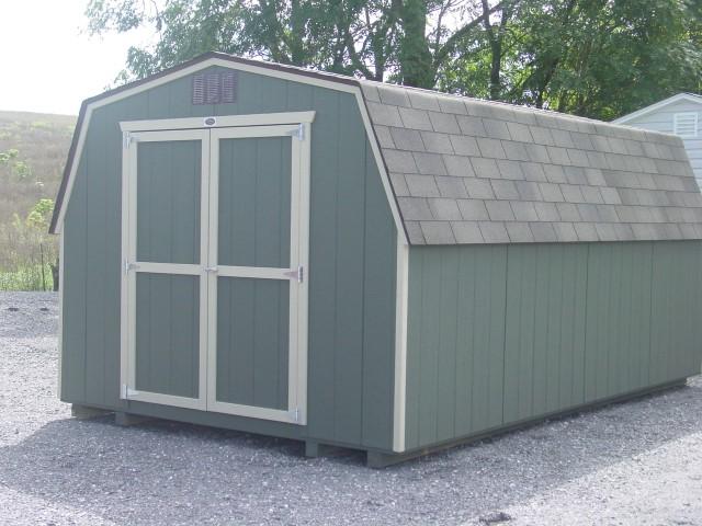 (Building #031) 10×16 Economy Barn