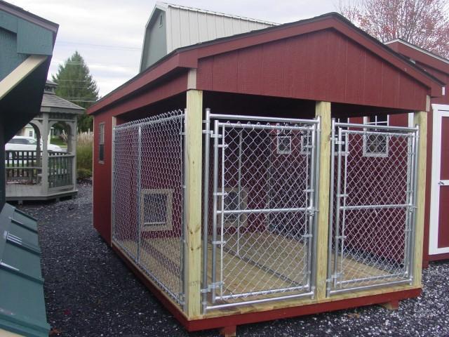 (Building #017) 8×16 Dog Kennel