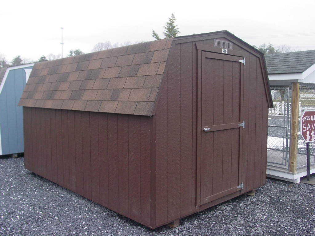(Building #002) 8×12 Economy Barn