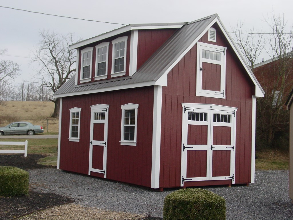 (Building #071) 12×20 Attic Cottage