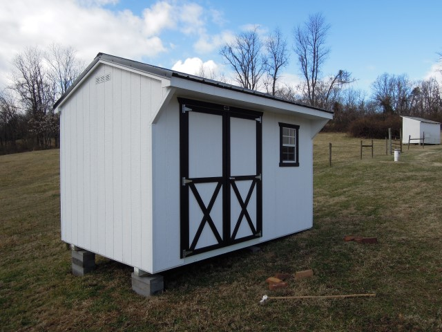 (Building #229) 8×12 Carriage House