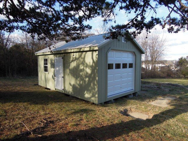 (Building #253) 12x20x8 Garden House