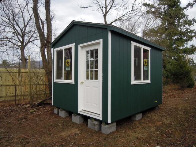(Building #221) 10x12x8 Cottage