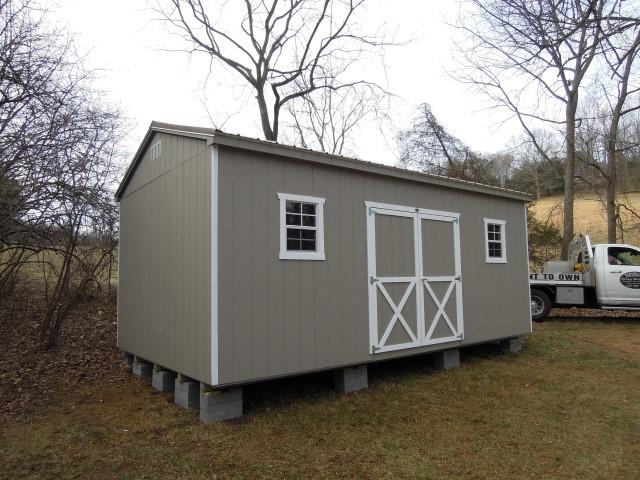 (Building #237) 12x20x8 Cottage