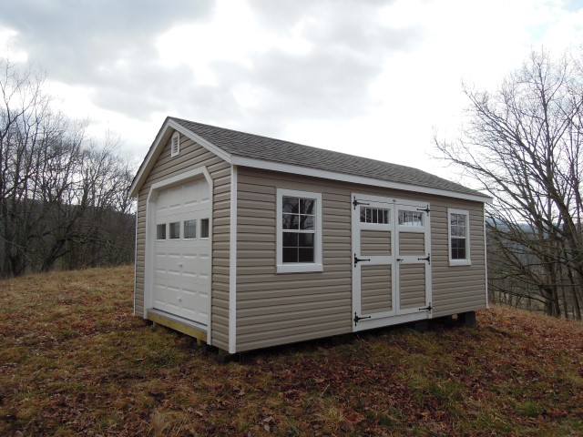 (Building #238) 12x20x8(7.5) Vinyl Garden House