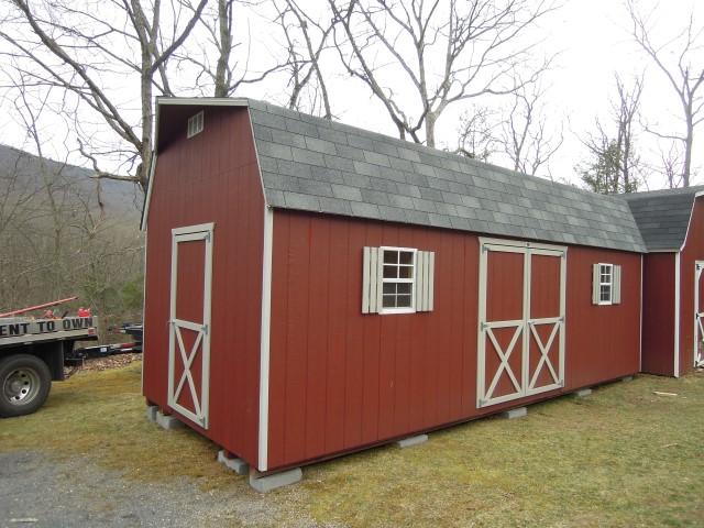 (Building #240) 10x24x7 Barn