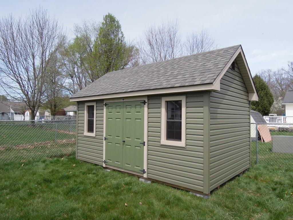 (Building #257)  10×16 used Vinyl Cottage