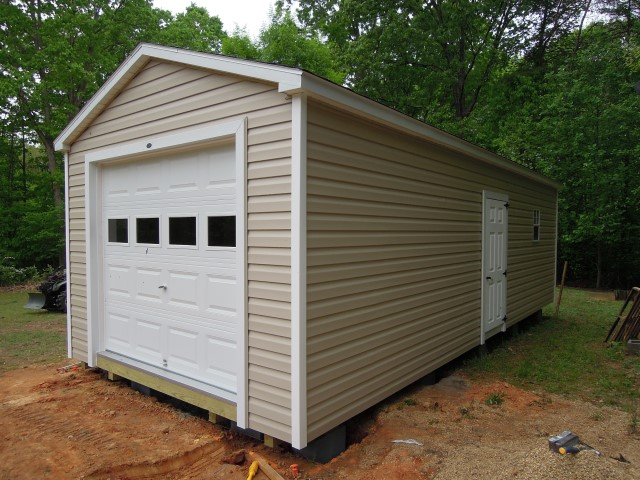 (Building #225) 12x20x8 Vinyl Cottage