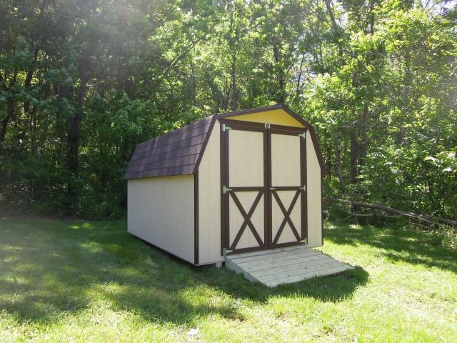 (Building #228) 8×12 Barn